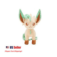 "New Pokemon Pocket Monster Eevee Evolution Leafeon Plush Stuffed Doll 8"" Doll"