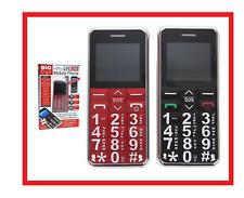 BIG DIGIT UNLOCKED MOBILE PHONE WITH LARGE NUMBER KEYS SOS BUTTON SENIOR CITIZEN