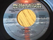 "THE REGAL DEWY - LOVE MUSIC   7"" VINYL PROMO"