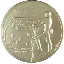 Israel I HAVE SET WATCHMEN UPON THY WALLS O JERUSALEM by Vincze base metal 57mm