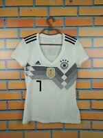 Germany Women Jersey 2018 2019 Home SMALL Shirt Football Adidas Trikot Sandrina