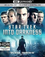 Star Trek Into Darkness 4K HD Blu-ray + Blu-ray + Digital HD