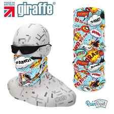 G338 Comic Boom fun ski Headgear Neckwarmer multifunctional Bandana Headband