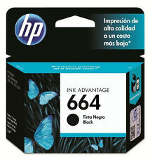NEW HP 664 Black Original Ink Cartridge Deskjet F6V29AL, Inkjet Printer