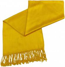 Pashmina Scarf Shawl Veil Off Yellow Gold Mustard  Wrap Woman Wedding Accessory
