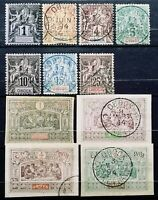 France(OBOCK)>1892-94>Used>OBOCK Dead Country.