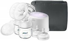 Philips Avent Comfort Double Electric Breast Pump ~ Sealed Scf334/22