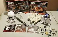 Hasbro Star Wars Force Awakens Micro Machines Destroyer Millennium Falcon LOT