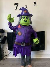 Child's Lego Witch Fancy Dress Costume 7-8 yrs Halloween 🎃