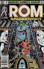 Rom Spaceknight No.38 1983 Shang-Chi Master of Kung Fu Bill Mantlo & Sal Buscema