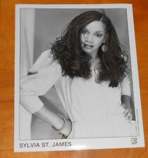 Sylvia St. James Photo Poster Original Promo 8x10 Soul Funk Rare