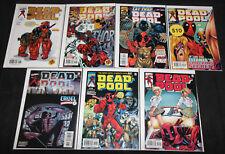 Marvel DEADPOOL TITLES 90pc Count Mid-High Grade Comic Lot VF-NM w/ Variants