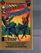 DC & Marvel Present: Superman & Spider-Man by Shooter Buscema Layton & more 1995