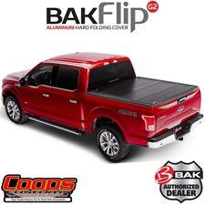 BakFlip G2 Aluminum Tri Hard Folding Bed Cover For 2015-2019 Ford F150 5.5FT Bed