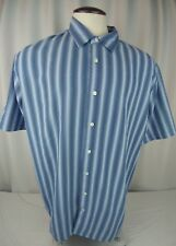 2XL Basic Editions Men's Short Sleeve button down Shirt