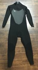Rip Curl Dawn Patrol 5/3mm Back Zip Wetsuit Men's WSM7FM Water Ocean Black L
