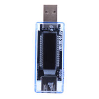 USB Charger Doctor Capacity Current Voltage Detector Meter Battery Tester  #Z