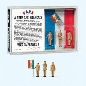 Preiser PREI13406 Figurines (80e anniversaire Charles de Gaulle) 1/87