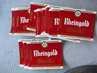 Lot of 10 Vintage Unused Rheingold Beer Bottle Labels