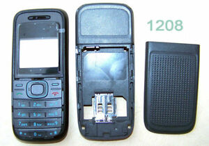 replacement Body housing cover case keypad keyboard for Nokia 1200 1208