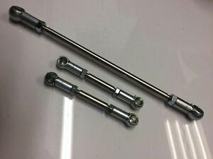 Peugeot 306 GTI-6 / Rallye Stainless Steel Gear Linkage Rod Kit SPOOX MOTORSPORT