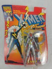 Toy Biz Marvel X-Men/X-Force 1993 Power Glow Storm figure, Brand New!