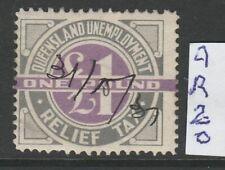 States Revenue Qld Relief Tax 1 Pnd 1927 L%$K aR20