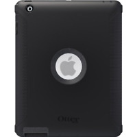 Otterbox Defender Case for Apple iPad 4th Gen, iPad 3, iPad 2, - Black