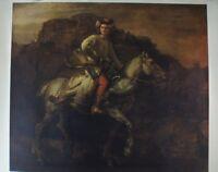 Rembrandt The Polish Rider Kunstdruck G-4792