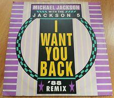 "I Want You Back 88 Remix - Michael Jackson & Jackson 5 (1988) - vinyl 12"" single"