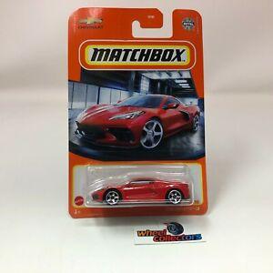 2020 Corvette C8 * RED * 2021 Matchbox Case V