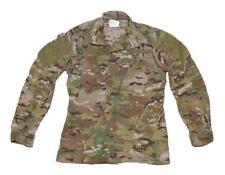 US Army Multicam Flame Resistant FR FRACU Combat Uniform Coat Shirt - SMALL LONG