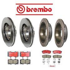 For Toyota Sequoia 01-8//02 Front+Rear Brake Pad Sets Brake Kit Brembo OEM