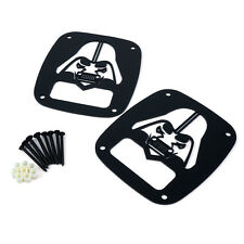 Xprite DARTHVADER Tail light Cover Guard For 1987 - 2006 Jeep Wrangler TJ YJ