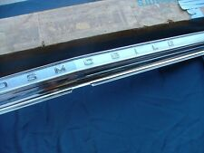 1966 Oldsmobile Jetstar, Dynamic 88 tail panel moulding, NOS! rear finish panel
