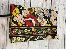 "Vera Bradley Paperback Book Cover 5"" x 7.5"" In Poppy Fields"