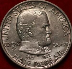 1922 Philadelphia Mint Ulysses S. Grant Silver Comm Half