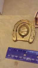 1978 Vintage Brass Belt Buckle BTS Horse Shoe Smith and Wesson??