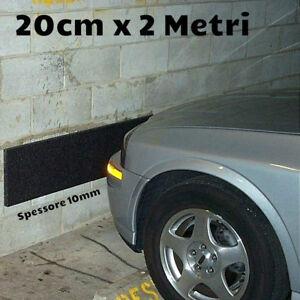 Striscia adesiva ritagliabile salvacolpi protezione garage EXTRA SPESSA 1CM