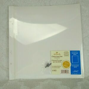 Hallmark Choose-Your-Own Refill Pages / 15 Pages for Extra Large Albums AR1047