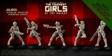 Raging Heroes 21536 Jailbirds Coyote Crew Command (5) Female Imperial Guard