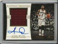 2015-16 National Treasures - Kyrie Irving Night Moves Auto Relic - Cavs 24/25