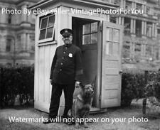 Prohibition Era 1929 Washington, DC Police K9 German Shepherd White House Photo