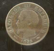 5 centimes NAPOLEON III 1855 A   chien  ( 2 )