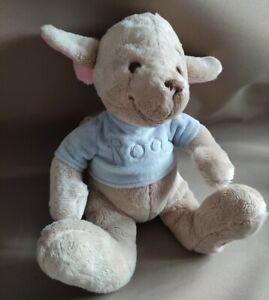 "DISNEY STORE Winnie the Pooh Baby Roo Kangaroo Large Soft Plush Toy 11"" Tall"