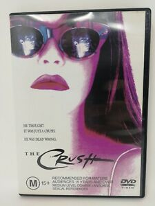 The Crush - Alicia Silverstone - Rare Region 4 DVD