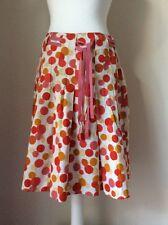 White Stuff 10 Skirt Cotton Spotty