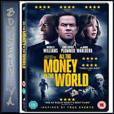 ALL THE MONEY IN THE WORLD BY Ridley Scott  **BRAND NEW DVD