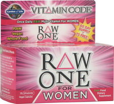 Vitamin Code RAW One for Women, Garden of Life, 75