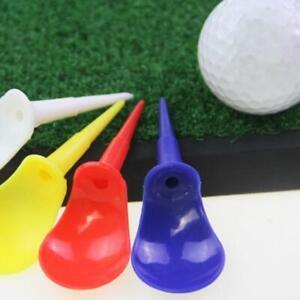 10Pcs Durable Unbreakable Chair Shape Golf Tees Driving Range Equipment